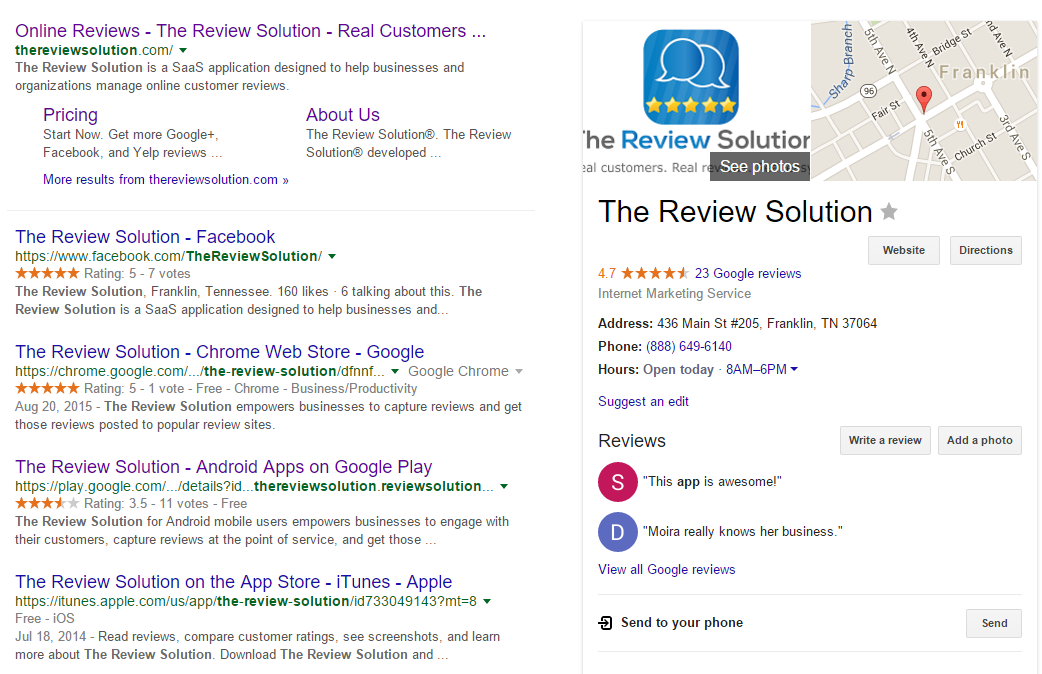 the review solution   Google Search